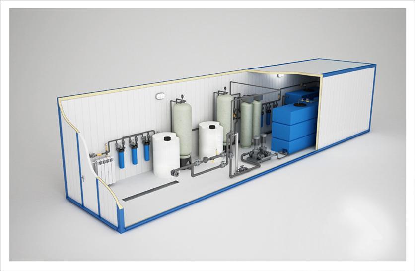 модульные станции водоподготовки питьевой воды