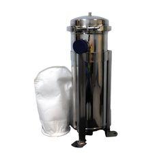 """Мешочный фильтр BFL-2 М, вход/выход 2"""" BSP (внутреняя), 30 м3/ч, нерж. сталь SUS304 матовый, фото"""