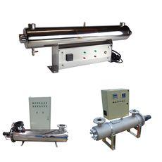 Промышленный УФ стерилизатор УФ-130 (1550 Вт), уф-датчик + блок промывки, фото