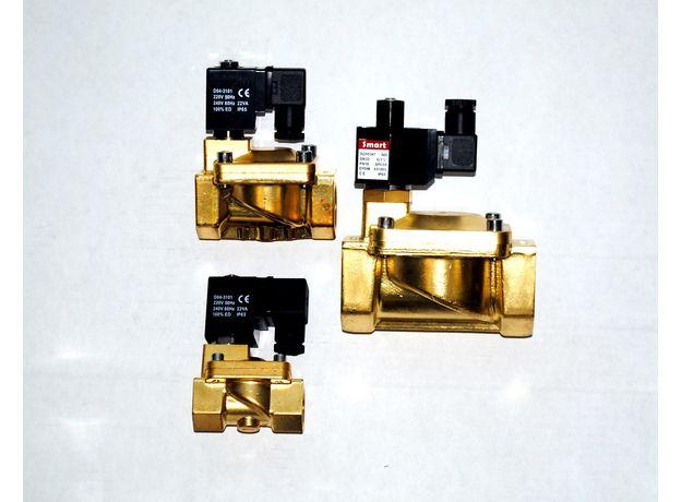 """Клапан электромагнитный DN20, G 3/4"""", """"Нормально Закрытый"""", PN16, AC220V, фото"""