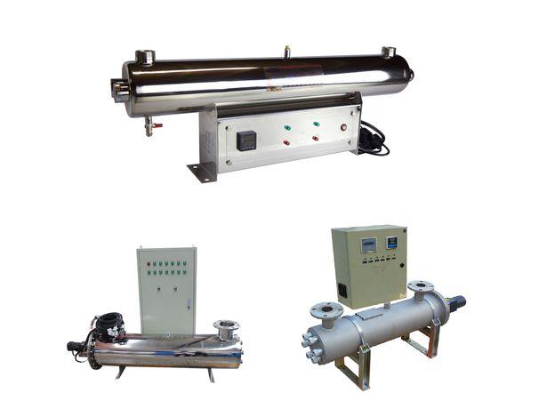 Промышленный УФ стерилизатор УФ-40 (560 Вт), уф-датчик + блок промывки, фото