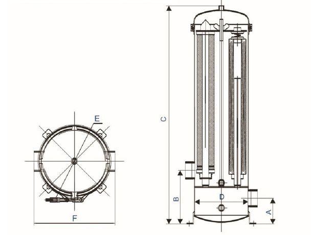 Мультипатронный фильтр BN1-W5L4, фото , изображение 2