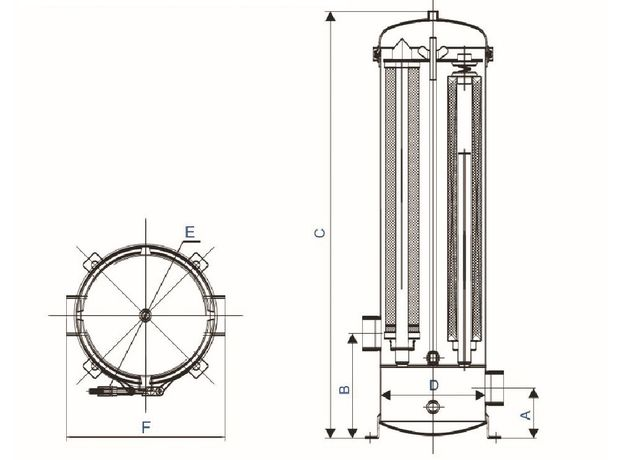 Мультипатронный фильтр BN1-W5L3, фото , изображение 2