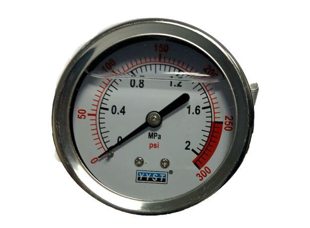 Манометр PG 300 (осевой) D63 мм (до 20 атм), фото , изображение 2