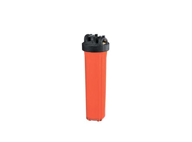 """Корпус оранжевый для горячей воды 10 ВВ (HOH-10BB 1""""), фото"""