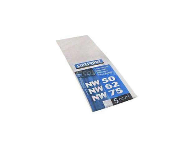 Мешок 25 мкм для NW 50/62/75 (5 штук) полипропилен; 4 -50ºС; 0,125м², фото